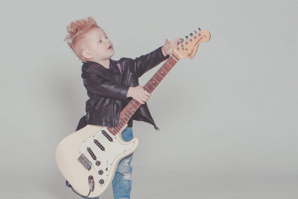 baby, guitar, rock