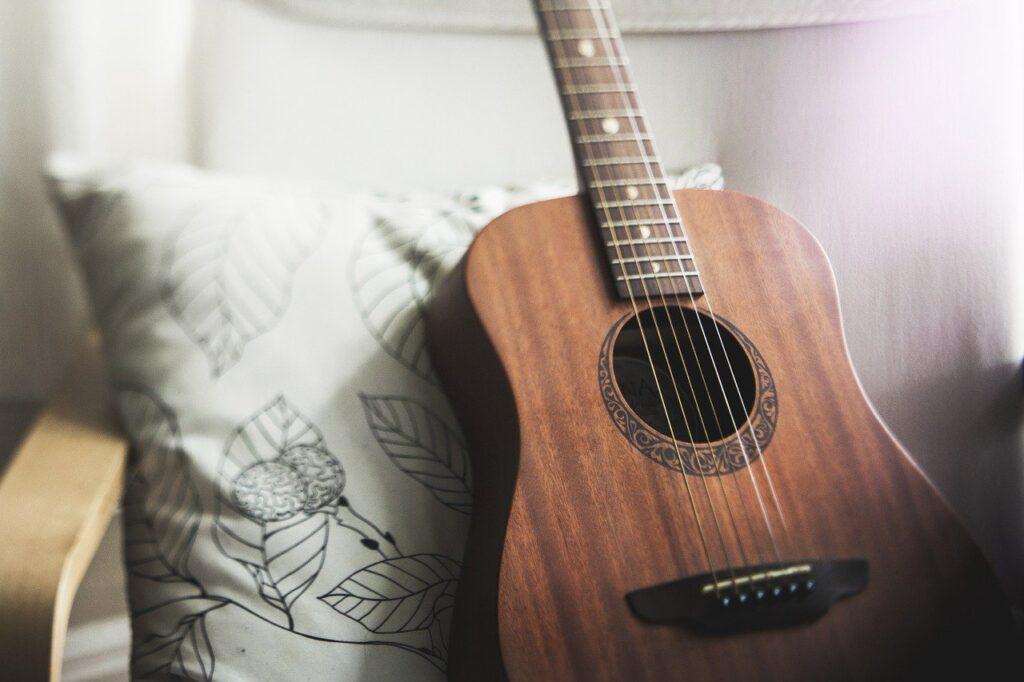 guitar, music, acoustic guitar